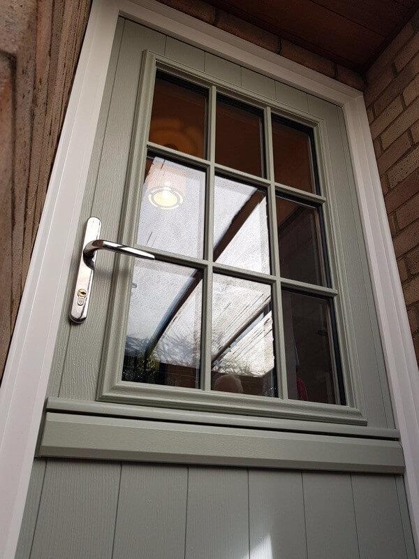 Close up stable door