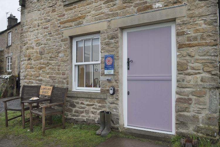 Lavender stable door