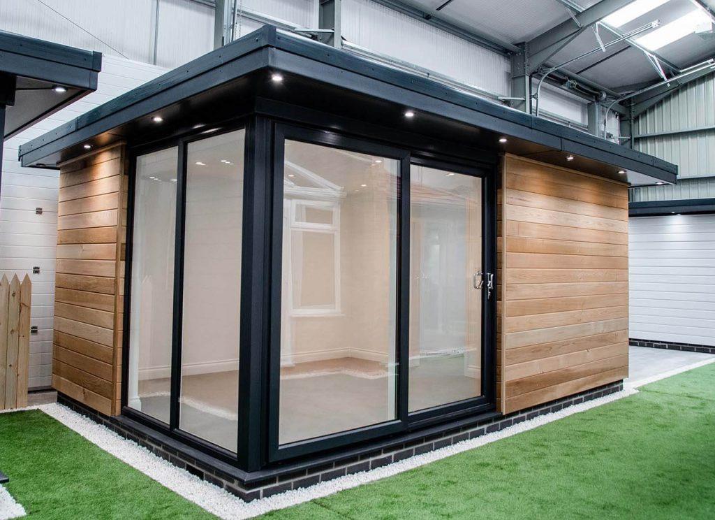Warmerroof garden room