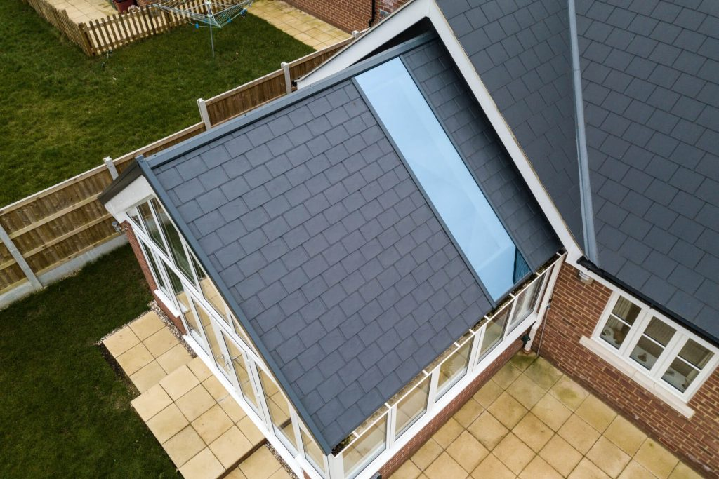 Gable solid roof