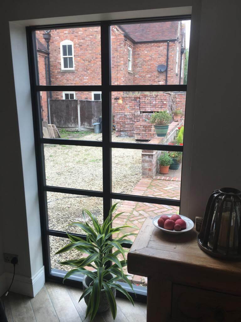 Wolverhampton window inside view