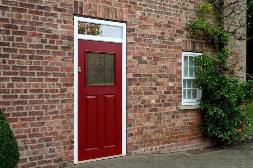 A Red Endurance Composite Door
