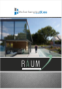 A screenshot of RAUM catalog.