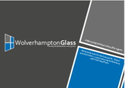 A screenshot of the Wolverhampton Glass Brochure.