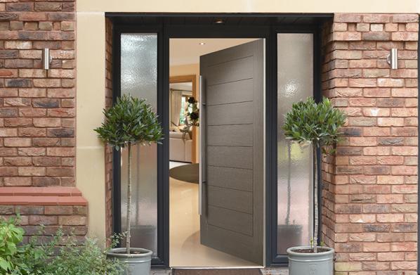 A Monza 2020 Composite door by Doorco