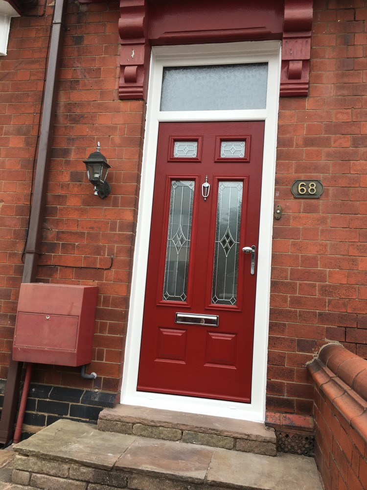 A red endurance front door
